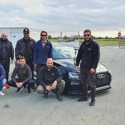 3rd participation ever to the Dragster Challenge Event at achna_speedway. As it was expected we managed to get the 1st place Overall running the quickest time of the day out of the 45 participants with an ET of 8.435  #NemosAutoWorks  —————————— #audi #rs3 #audirs3 #audirs3sedan #audirs3facelift