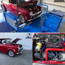 #NemosAutoWorks #mini #miniclassic #mpi #scsdeltaecu #customtune #tuning #customecucalibration #custommapping #SCSDelta #Bapro #Baprodyno #Baprodynamometer Another project has just finished, mini classic 1275cc running full electronic injection / ignition conversion on SCSDelta ECU, high lift cam, itb, ported head !