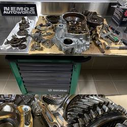 #NemosAutoWorks  Let's make a change from the nowadays common #DSG to an older #02J gearbox rebuild for today. Full recondition with a #wavetrac LSD and #arp crown wheel bolts to handle some extra #diesel torque.