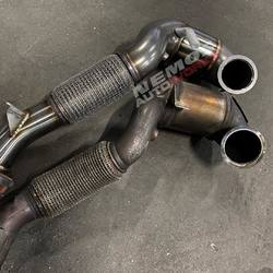#NemosAutoWorks  OEM Vs IE downpipe  #IntegratedEngineering #performancebyie #IECyprus #IEGreece #downpipe #audi #8v #s3 #audi8v #audis3 #audi8vs3  https://nemosautoworks.com