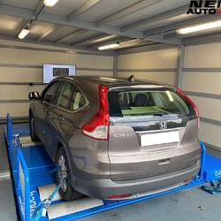 #NemosAutoWorks  This 1.6L  i-DTEC Honda CR-V 2014 model, Cyprus car / 1 owner, was measured on our #bapro dyno and produced exactly the figures of the manufacturer.